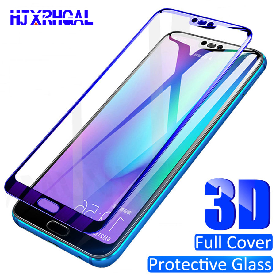 3D Full Cover Tempered Glass For Huawei P10 P20 P30 Lite Plus Screen Protector Film For Huawei Nova 3 3e 3i 4 Protective Glass