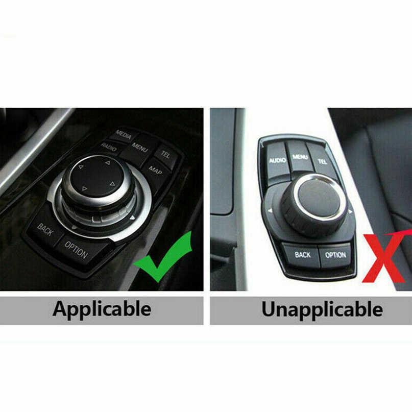 1x ceramiczne czarny IDrive Multimedia gałka pokrowiec na BMW X1 X3 X4 X5 X6 1 2 3 5