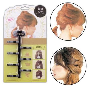 1Pc narzędzia do stylizacji włosów Twist Braid urządzenie do oplatania włosów maszyna do stylizacji włosów włosy plecione styl narzędzie Salon akcesoria tanie i dobre opinie CN (pochodzenie) Stylizacja akcesoria 12*7cm plastic 796065 hairdressing accessories