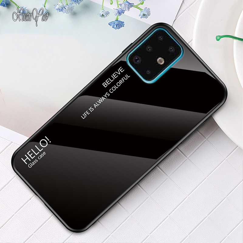 XUANYAO Cover For Samsung Galaxy S7 S8 S9 S10 S20 Plus Case S20+ Soft Frame Coque For Samsung Galaxy S20 Ultra S10 S9 S8 S7 Edge image
