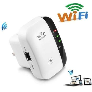 AMKLE Wireless WiFi Repeater Wifi Extender 300Mbps Wi-Fi Amplifier 802.11N/B/G Booster Repetidor Wi Fi Reapeter Access Point