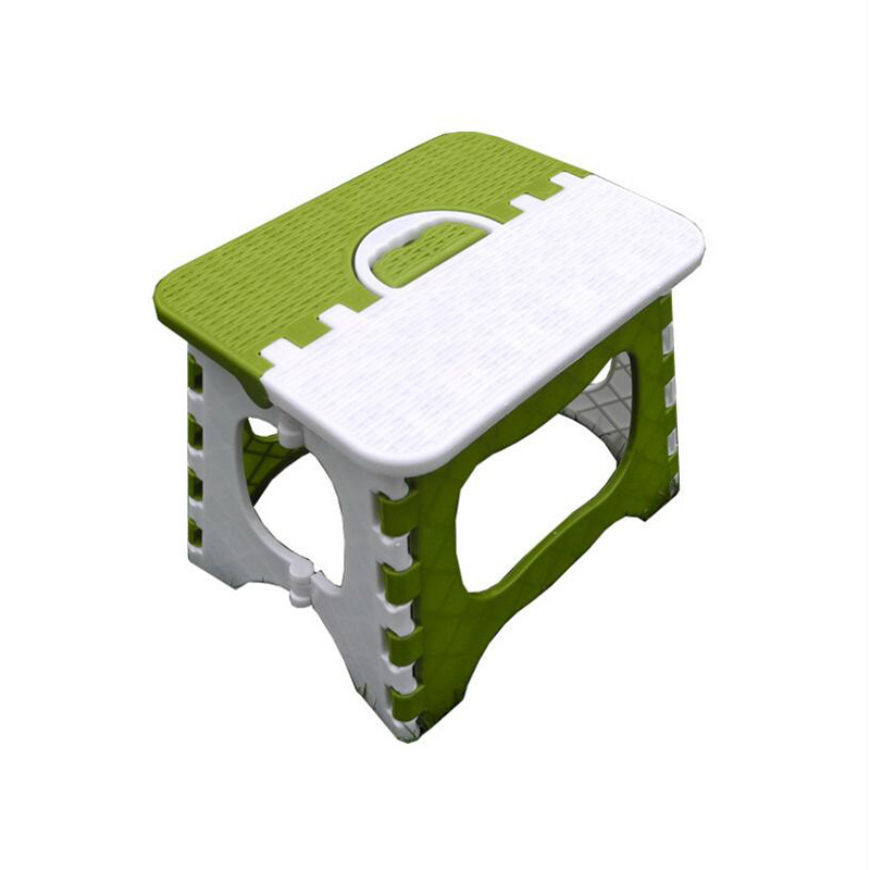 2019 Thicken Strengthen Stool Bamboo Plastic Size Green Outdoor Portable Chair Household Children's Folding Bench Square Stool