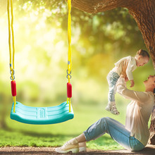 Pe Plastic Swing Seat With Adjustable Rope Kids Tree Swing Seat Outdoor Indoor Children #8217 s Leisure And Entertainment Toys cheap CN(Origin) In-Stock Items Toy swing set NONE Certificate 3 years old