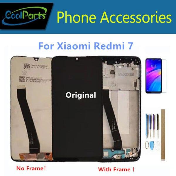 Original 6,26 para Xiaomi Redmi 7 Redmi7 Redmi 7 Un Redmi7A pantalla LCD con pantalla táctil digitalizador Sensor con marco kits
