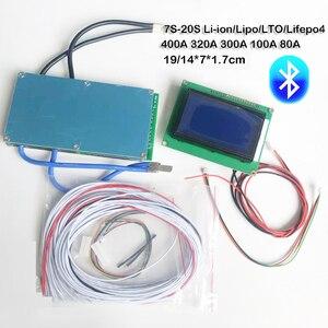 Image 2 - Smart Bluetooth 7S 20S Lifepo4 DELLE CELLULE li ion Bordo di protezione Della Batteria BMS 400A 320A 300A 100A 80A DEL TELEFONO APP 8S 10S 12S 13S 14S 16S
