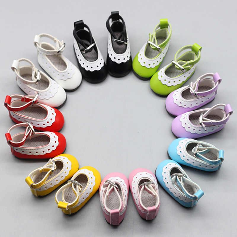 5 ซม.ผ้าใบรองเท้าสำหรับตุ๊กตาแฟชั่น MINI ตุ๊กตารองเท้าสำหรับ DIY handmade ตุ๊กตาเด็กตุ๊กตาอุปกรณ์เสริมรองเท้าผ้าใบ