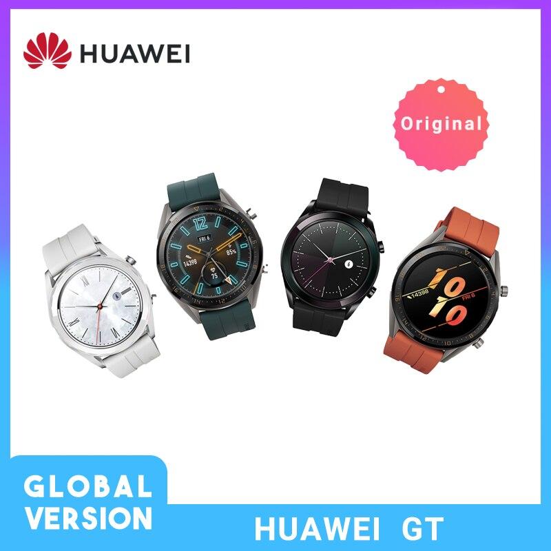 Global Version HUAWEI Watch GT In Stock Smart Watch Sleep Support Waterproof Heart Rate Tracker GPS Sport Tracker SmartWatch