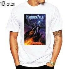 Hammerfall rebelianci z przyczyną męska koszulka koszulka z motywem zespołu metalowego koszula Edguy Sabaton 2Xl 17Xl koszulka