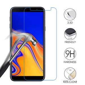 Image 1 - Gehard Glas Voor Samsung Galaxy A7 A5 A6 A8 Plus J4 J6 J8 2018 9H Screen Protector Voor Samsung s7 S6 Note 3 5 Glas Film