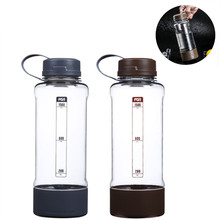 Bpa free 1500ml large capacity Creative Bicycle sport outdoor plastic my water tea bottle portable kettle  juice
