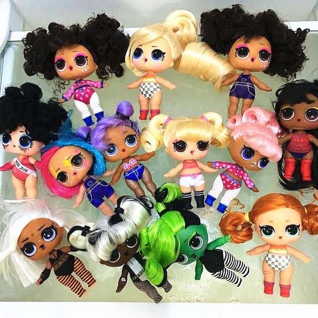 L.O.L. Серии сюрприз, 5 волос, меняющий цвет, 8 см, куклы с волосами старшей сестры, набор кукол LOL Bhaddie, набор брызг, детская игра, игрушка в подаро...