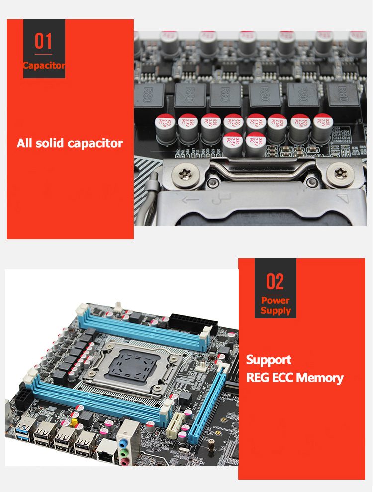 MACHINIST X79 LGA2011 motherboard LGA 2011 ATX USB3.0 SATA3 PCI-E NVME M.2 SSD support DDR3 REG ECC memory Xeon E5 V3 processor 4