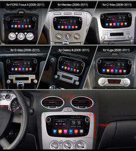 Image 2 - Ownice Android 10.0 araba DVD oynatıcı 2 Din radyo GPS Navi Ford Focus Mondeo Kuga C MAX S MAX Galaxy ses stereo kafa ünitesi