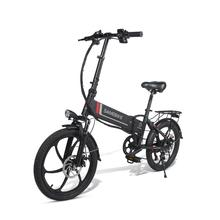 20 Inch Samebike 20LVXD30 Folding Electric Bike Electric Bicycles 350W 48V Max Speed 35KM/H Adults Electric Bicycle Scooter
