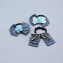 CYHGM girls hair elastic bands schrunchies pince cheveux femme Ribbon accesorios brand pour diademas G043