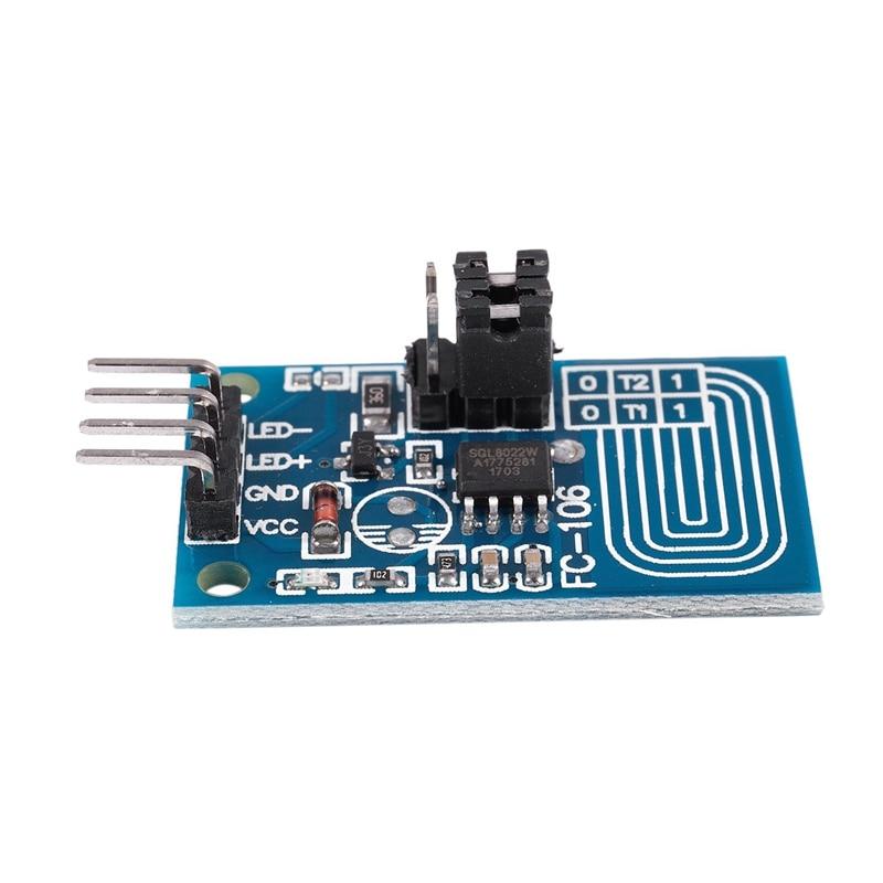 1 шт. конденсатор сенсорный диммер, постоянное напряжение светодиодный плавное затемнение, плата управления ШИМ, модуль переключателя затемнения, синий