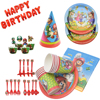 Birthday Theme Super Mario Party Decor Disposable Tableware Hat  Set Kids Favors Cartoon Party baby shower Events Party Supplies
