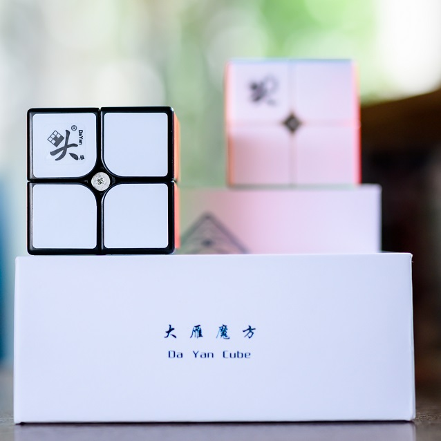 Dayan TengYun 2x2 M 2x2x2 Magnetic Magic Speed Cube 2x2 Cubo Magico Educational Toys Gift Game Kids