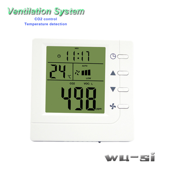 RS485 CO2 air controller air quality monitoring instruments