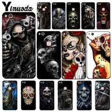 Yinuoda Grim Reaper Skull Skeleton Phone Case for Huawei Y5 II Y6II Y5 Y6 Y7Prime Y9 2018 2019(China)