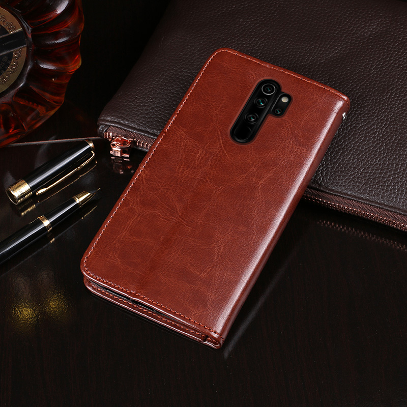 For Xiaomi Redmi Note 8 Pro Case Wallet Flip Business Leather Fundas Phone Case for Redmi Note 8 Pro Cover Coque Accessories