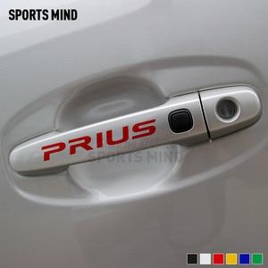 Image 5 - 4 個スポーツトヨタプリウスのため TRD アクセサリー JDM 車スタイリングハンドルビニール車ステッカーデカール自動車