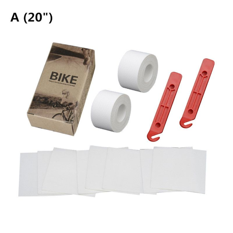 1 set Bicycle <font><b>Tire</b></font> Liner Puncture Proof Belt Bike Inner Tube Protection Pad for <font><b>20</b></font>