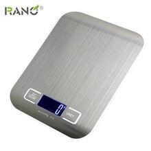 Rano 10/5 кг тонкие бытовые кухонные весы электронные пищевые
