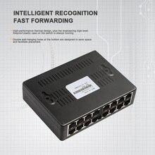 16 ポートネットワークスイッチデータスイッチ 16 ポートスイッチ LAN RJ45 ファストイーサネットスイッチ 10/100 150mbps のホームネットワーク高速カメラ