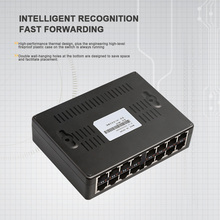 16 Port network switch data switch 16port switch LAN RJ45 Fast Ethernet Switch 10/100Mbps Home network fast switch for camera
