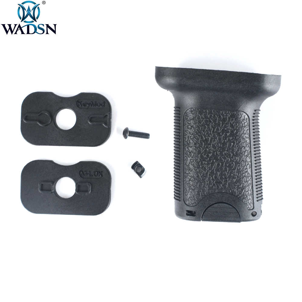 WADSN Airsoft TD Grip Universele Speelgoed Accessoires Tactische Plastic Handgreep Grip fit Keymod M-lok Rail Systeem