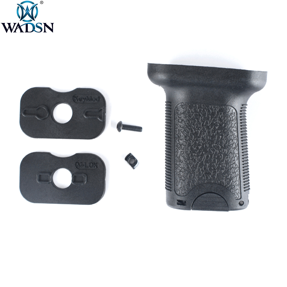 WADSN Airsoft TD Grip Universal Toy Accessories Tactical Plastic Handgrip Grip Fit Keymod M-lok Rail System