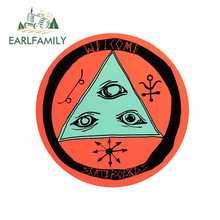 Earlfamily 13cm x 12.9cm para talismã bem-vindo decalque do vinil carro assessoroires adesivos à prova dwaterproof água oclusão zero decoração
