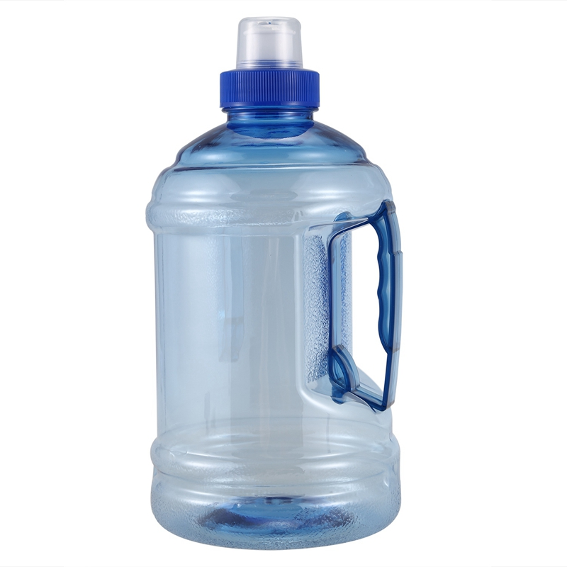 Large BPA Free Sport Gym Training Drink Water Bottle Cap Kettle Camp Blue 1000ml