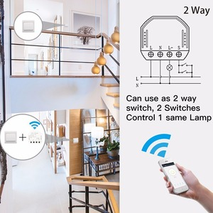 Image 3 - Tuya DIY WiFi LED דימר אור מתג אוניברסלי חכם חיים/שלך APP שלט 1/2 דרך מתג עובד עם alexa Google בית