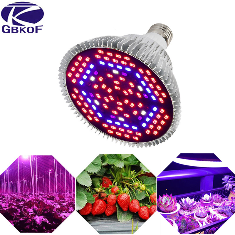 LED Grow Light Full Spectrum 10W 30W 50W 80W Red Blue UV IR Led Growing Lamp For Hydroponics Flowers Plants Vegetables.