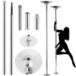 Professionele Gouden 360 Stripper Pole Dance Spin Pole Verwijderbare Home Fitness Oefening Training Pole 45mm X POLE Kit Freeshipping