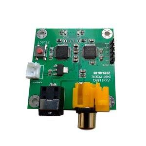 Image 5 - AK4118AEQ scheda ricevitore fibra coassiale a I2S uscita 24Bit192kHz Soft Control