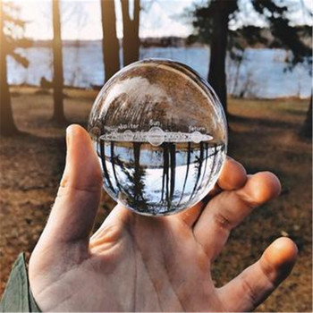 Solar System Klare Linse Ball Kristall Glas Ball Kristall Ball Stehen Für Kugel Fotografie Dekoration Hause Dekorative ball