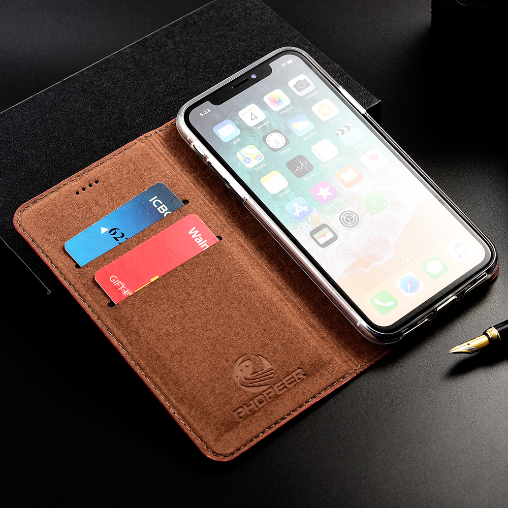Image 3 - Luxury Crocodile Genuine Flip Leather Case For Apple iPhone 11 Pro Max Business Cell Phone Cover WalletFlip Cases   -