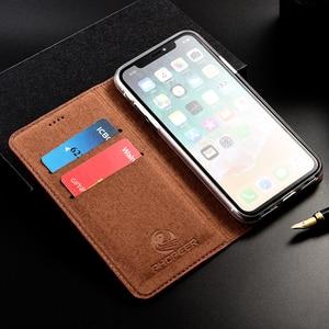 Image 3 - Luxus Krokodil Echtem Flip Leder Fall Für Apple iPhone 11 Pro Max Business Handy Abdeckung Brieftasche