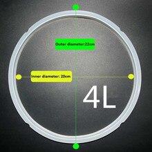 Силиконовое уплотнительное кольцо 4L 5L 6L скороварка внутренний бак рисоварка часть из нержавеющей стали горшок Силиконовое уплотнительное кольцо