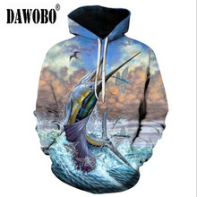 2020 New arrival Tuna 3D digital print Fishing  Autumn Winter Outdoor sports Men/Women Fishing clothing plus size 6XL – S