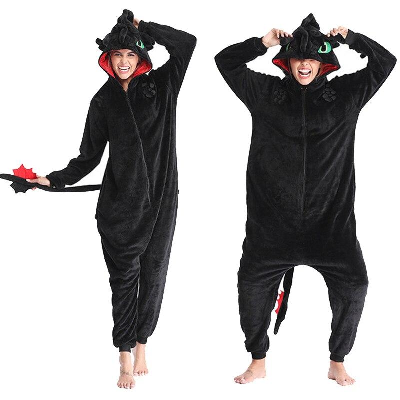 Cómo entrenar a tu dragón sin dientes Anime Kigurumi mujeres invierno Pelele de animales de franela lindo Cosplay ropa de dormir mono Pijamas 1 unidad, 30/40/60/80 CM, lindos juguetes de peluche de león marino, encantador sello de Animal marino, almohada novedosa 3D, regalo de cumpleaños para niños y bebés