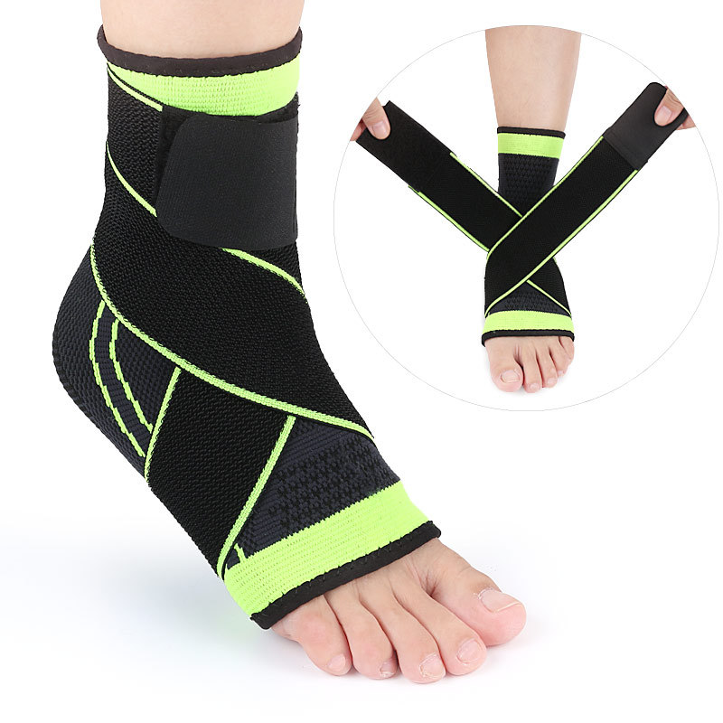 Men Women Sports Ankle Protector Sleeve Warm Badminton Football Basketball Ankle Fixed Nylon Leg Running Sleeves Anti Friction