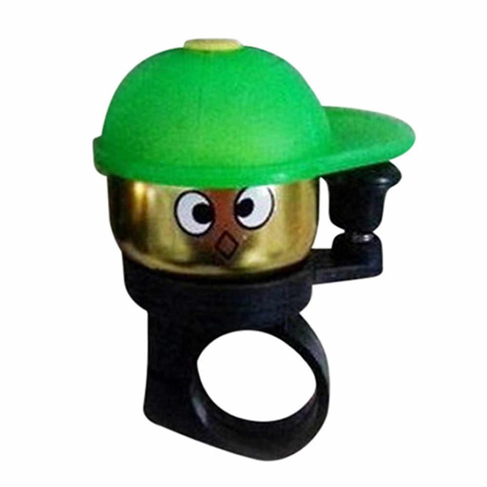 Bel Sepeda Anak Mini Cute Vintage Keselamatan Alarm Stang Cincin Bel Suara MTB ROAD Sepeda Horn Bersepeda Aksesoris Aaluminum 0324