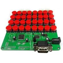 32 أزرار التحكم اليدوي RS232 لوحة المفاتيح ل KC868 H32 الذكية المنزل إيثرنت ويب التبديلات تحكم Diy