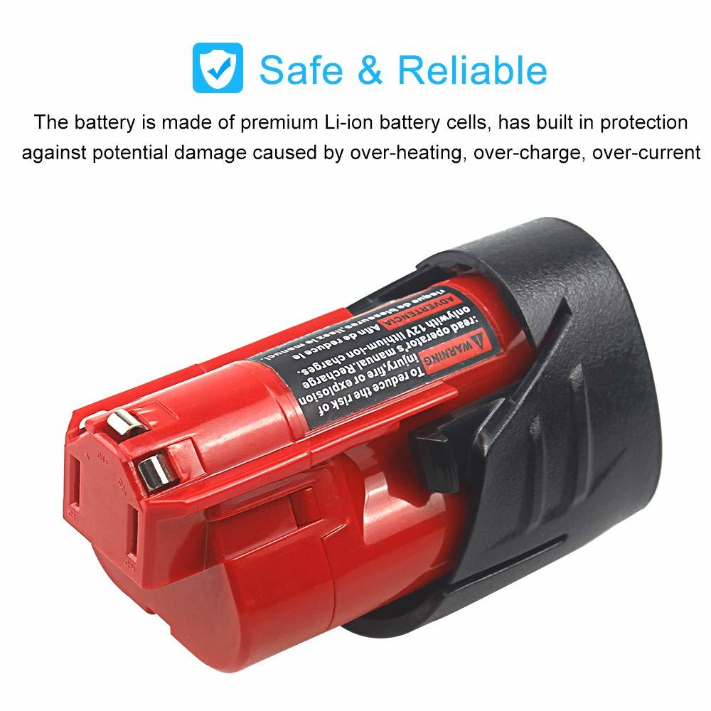 Waitley 2 bateria 12 v 2.5ah li-ion