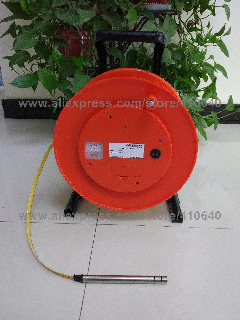 150m()  Steel Ruler Water Level Meter  (1)
