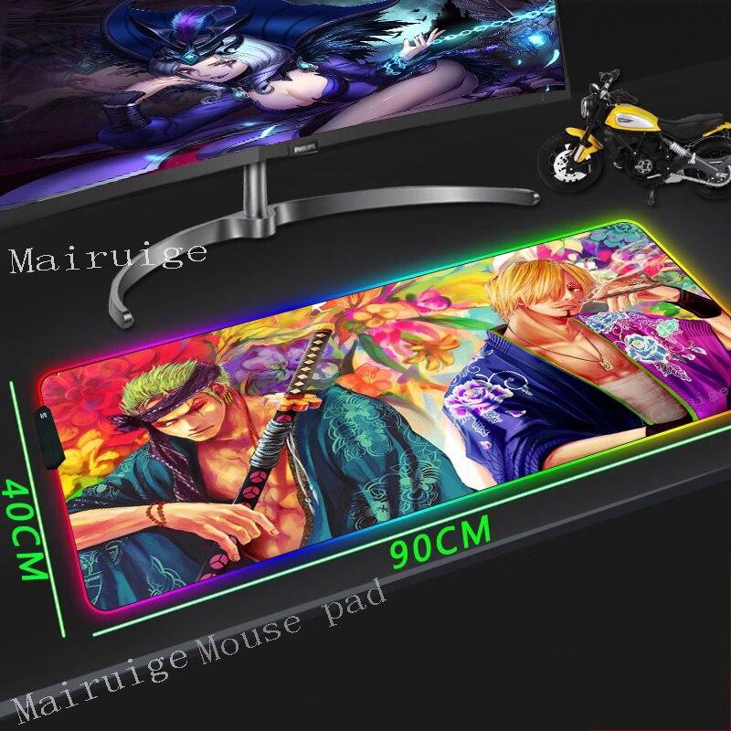 Купить большой коврик для мыши mairuige с изображением меча rgb резиновый